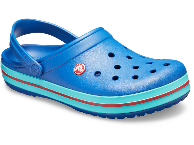 Crocs Crocband Sandaler, blue jean/pool